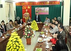 Ban chấp hành Công đoàn đã tổ chức gặp mặt đầu xuân với lãnh đạo các đơn vị trực thuộc của trường.
