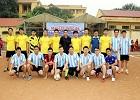 Trận giao lưu bóng đá giữa Đoàn thanh niên trường Đại học Hoa Lư và Đoàn thanh niên Mobifone Ninh Bình