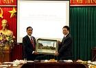 Đoàn đại biểu cấp cao tỉnh U- đôm- xay đến thăm và làm việc tại trường Đại học Hoa Lư