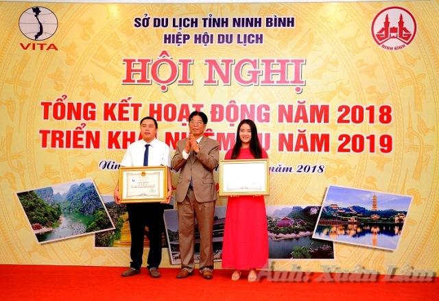 Trường Đại học Hoa Lư tham dự Hội nghị tổng kết hoạt động năm 2018 do Hiệp hội du lịch Ninh Bình tổ chức
