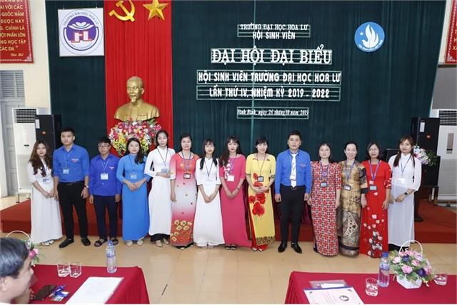 Đại hội đại biểu Hội Sinh viên trường Đại học Hoa Lư lần thứ IV nhiệm kỳ 2019-2022