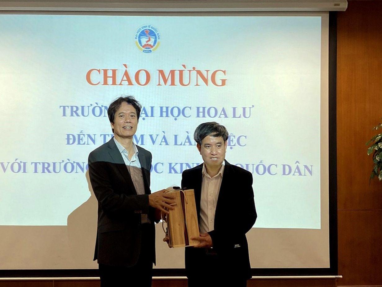 Đại học Hoa Lư sẽ sớm ký biên bản hợp tác với Đại học Kinh tế quốc dân