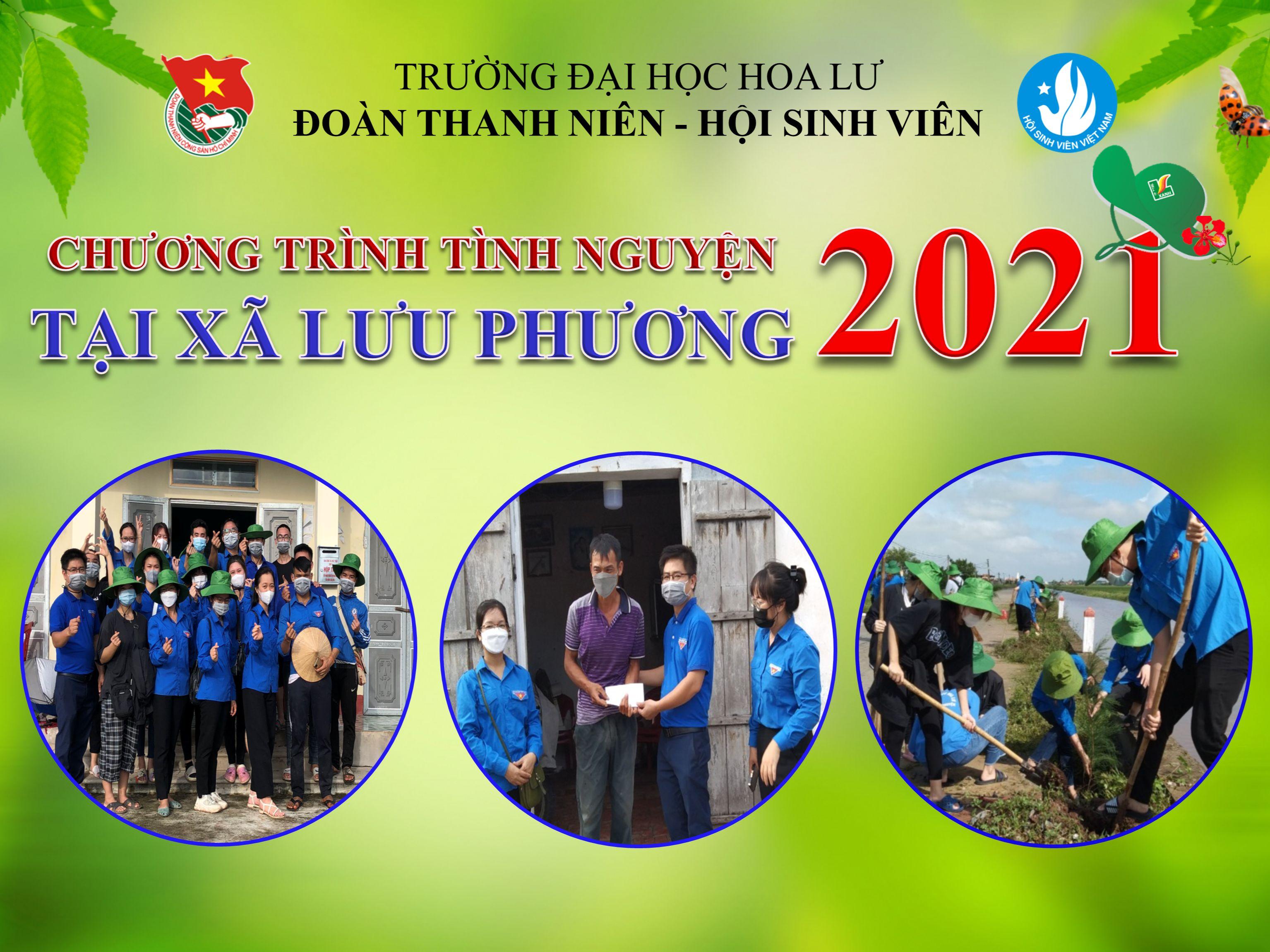 Chương trình tình nguyện năm 2021 của Đoàn thanh niên Trường Đại học Hoa Lư